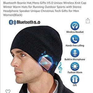 Wireless Bluetooth Beanie